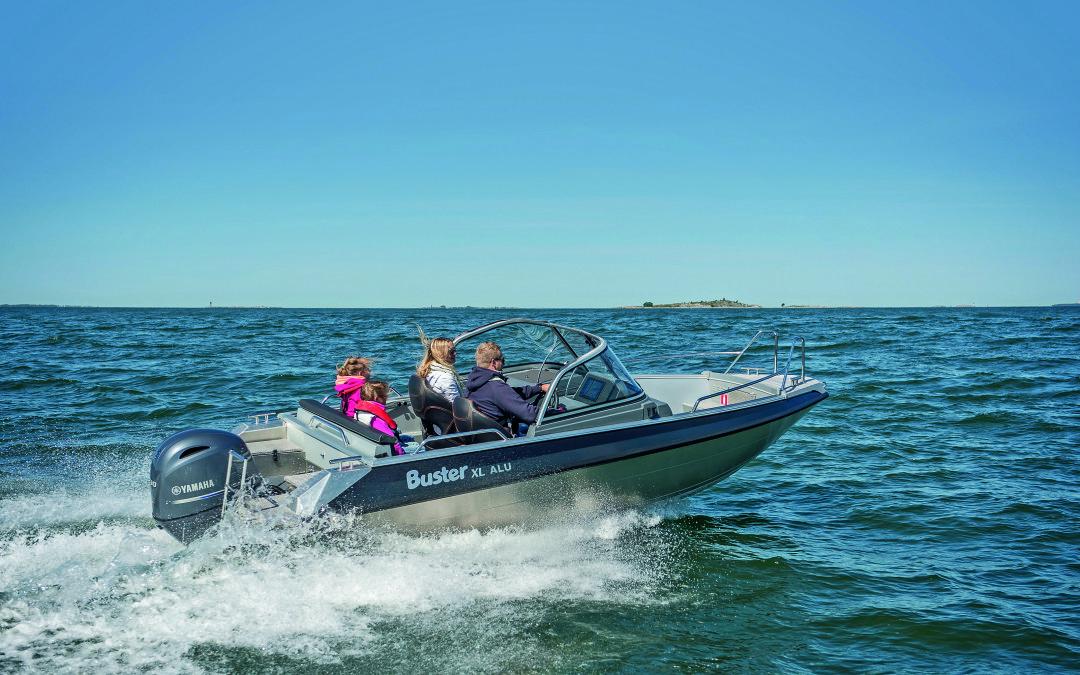 Yamaha Marine Store lanserar egen båtmodell i samarbete med Buster