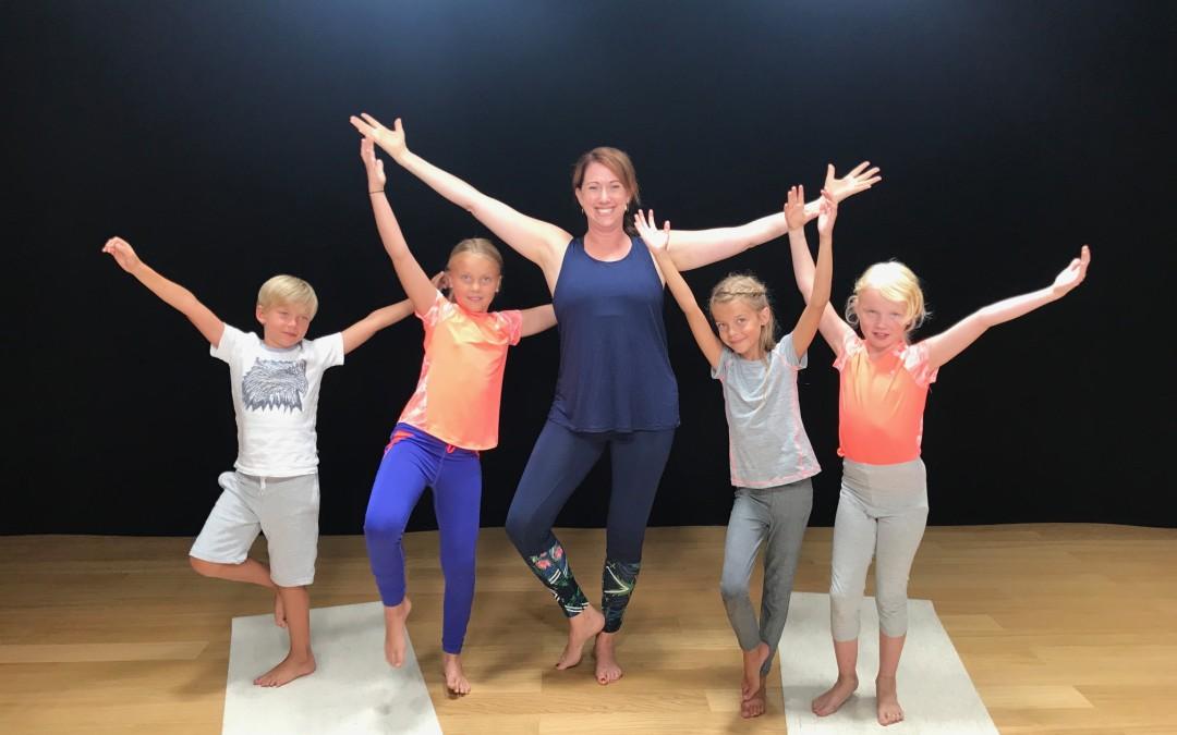 Yoga gör skillnad hos barn och tonåringar